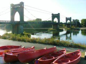location canoe loire