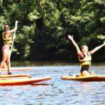 stand up paddle sur la loire chinon