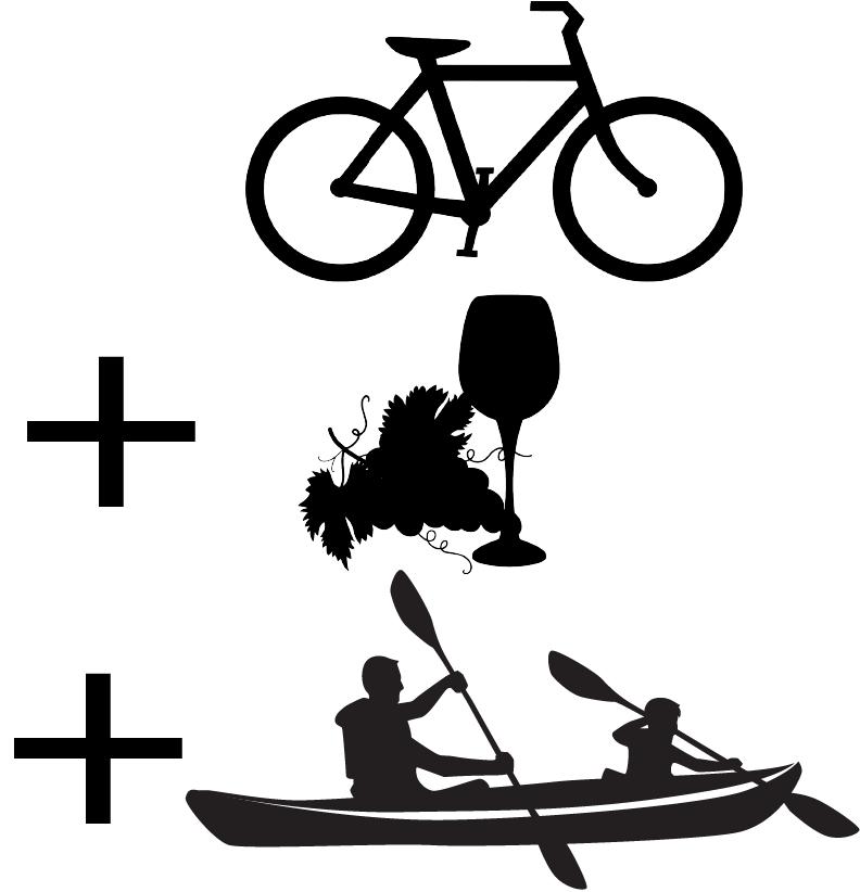 combi vélo cave canoë