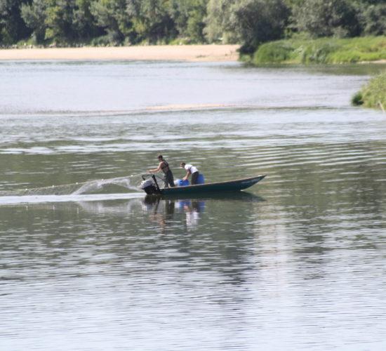 pêche randonnée canoe